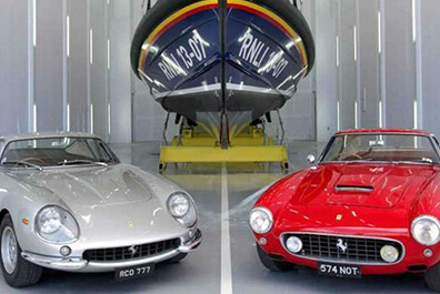 How to turn a Ferrari into a lifeboat station