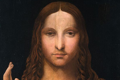 Stolen copy of Salvator Mundi, Discovered in Naples flat